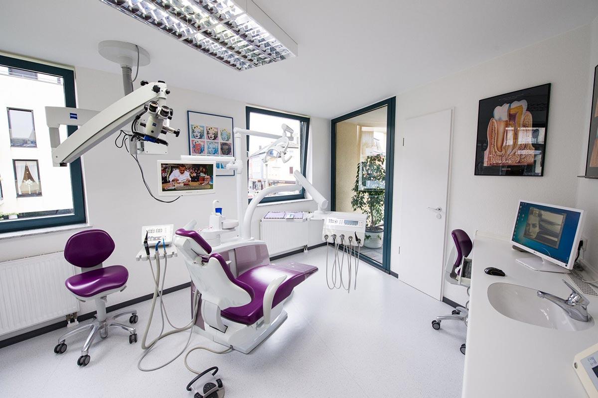 Zahnarzt Hennef - Behandlungsraum
